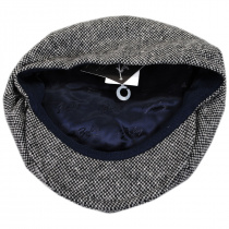 Galvin Wool Tweed Newsboy Cap alternate view 4