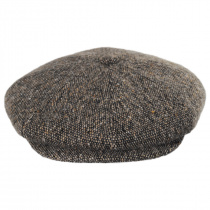 Galvin Wool Tweed Newsboy Cap alternate view 6