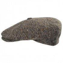 Galvin Wool Tweed Newsboy Cap alternate view 15