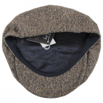 Galvin Wool Tweed Newsboy Cap alternate view 16