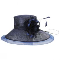 Lady's Secret Sinamay Lampshade Hat in