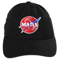 NASA Mars Strapback Baseball Cap Dad Hat in
