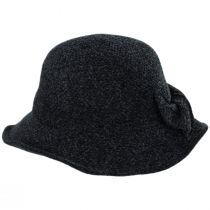 Twist Bow Chenille Cloche Hat alternate view 2