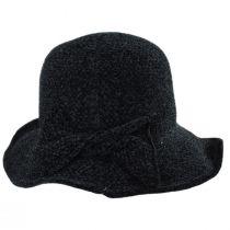 Twist Bow Chenille Cloche Hat alternate view 3