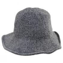 Twist Bow Chenille Cloche Hat alternate view 7