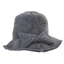 Twist Bow Chenille Cloche Hat alternate view 8