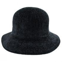 Large Brim Chenille Cloche Hat alternate view 2