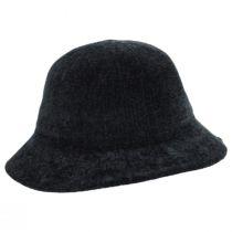 Large Brim Chenille Cloche Hat alternate view 3