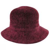 Large Brim Chenille Cloche Hat alternate view 6