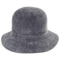 Large Brim Chenille Cloche Hat alternate view 11