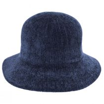 Large Brim Chenille Cloche Hat alternate view 16