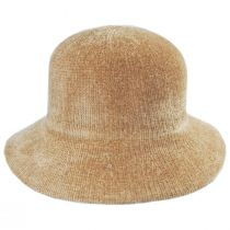 Large Brim Chenille Cloche Hat alternate view 23