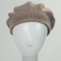 Metallic Band Wool Blend Beret alternate view 8