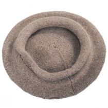Metallic Band Wool Blend Beret alternate view 9