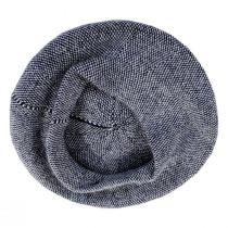 Tweed Barleycorn Wool Blend Beret alternate view 3
