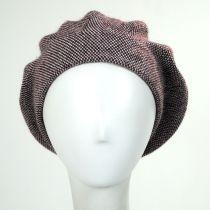 Tweed Barleycorn Wool Blend Beret alternate view 5