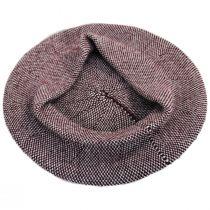 Tweed Barleycorn Wool Blend Beret alternate view 6