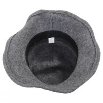 Pinstripe Band Boiled Wool Roller Hat alternate view 4