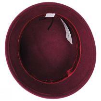 Chevron Fleur Wool Felt Cloche Hat alternate view 4