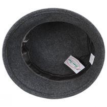 Chevron Fleur Wool Felt Cloche Hat alternate view 8