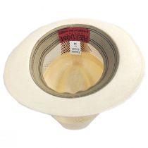 Tuscany Laminated Toyo Mesh Fedora Hat in