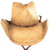 Husky Raffia Straw Western Hat alternate view 6
