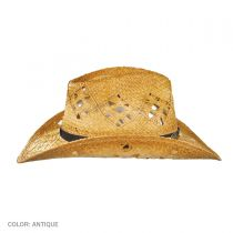 Annie Oakley Raffia Straw Western Hat alternate view 4