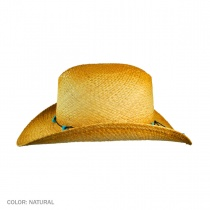 Calamity Straw Cattleman Western Hat alternate view 4