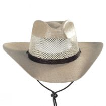 Seville Laminated Linen Western Hat alternate view 6