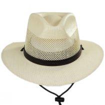Milan Laminated Toyo Straw Safari Hat in