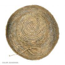 Crochet Seagrass Boater Hat
