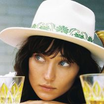 Ivy Beverly Wool Felt Fedora Hat in