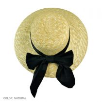 Milan Straw Boater Sun Hat alternate view 6