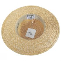 Spencer Wheat Straw Boater Hat alternate view 4