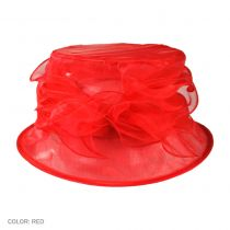 Organza Packable Cloche Hat