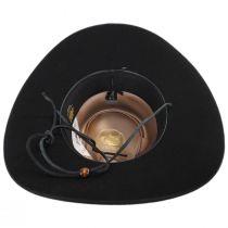 Quicklink Wool Felt Crossover Hat in
