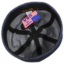 Six Panel Denim Cotton Beanie Hat alternate view 9