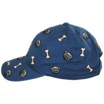 Pug Replay Strapback Baseball Cap Dad Hat alternate view 3