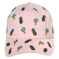 Palm Tree Replay Strapback Baseball Cap Dad Hat alternate view 2