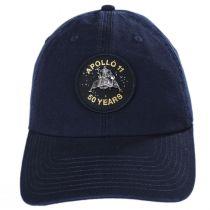 Apollo 11 50 Year Anniversary Strapback Baseball Cap Dad Hat in