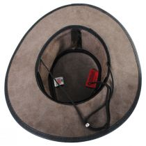Crusher Leather Outback Western Hat alternate view 4