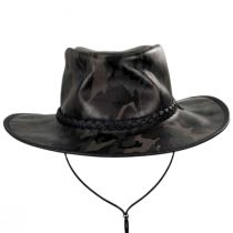 Crusher Leather Outback Western Hat alternate view 6