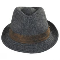 Inverness Wool Blend Fedora Hat in
