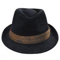 Cuff Corduroy Cotton Fedora Hat alternate view 2