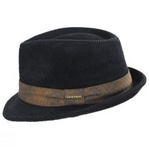 Cuff Corduroy Cotton Fedora Hat alternate view 3