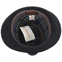Cuff Corduroy Cotton Fedora Hat alternate view 4