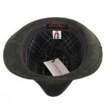Cuff Corduroy Cotton Fedora Hat in