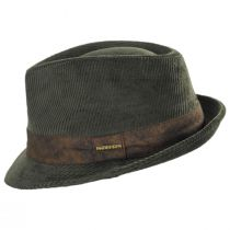 Cuff Corduroy Cotton Fedora Hat alternate view 11