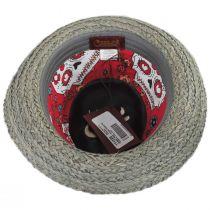 Journey Wool and Raffia Straw Fedora Hat alternate view 8