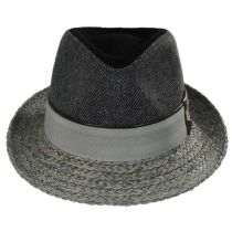 Journey Wool and Raffia Straw Fedora Hat alternate view 14